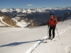Arrivée au Col de Val Haute