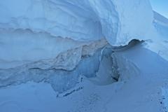 Crevasses du Glacier de la Girose