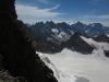 Vue sur l\'intérieur du massif avec la Barre des Ecrins