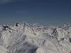le Mont Blanc vu du dome de la Lauze.