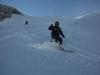 Ski sur le Glacier à La Grave