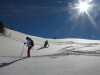 Ski Hors pistes à la Cime Saurel à Claviere
