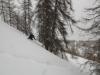 Au dessus du col de la Pousterle à Puy Saint Vincent