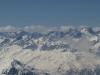 ski hors pistes a val thorens , le massif des Ecrins