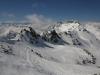 ski hors pistes a val thorens, départ du vallon du Lou