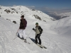 ski hors pistes a val thorens vers le lac du Lou