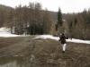 ski hors pistes a san sicario, la fin dans les crocus.