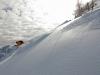 Darius se lache. Y\'a bon les nouveaux skis !