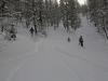 Descente en ski vers Freissinieres