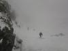 Montée au refuge du Glacier Balnc