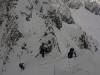 Marche en crampons sur l\'arête du Pic du Glacier d\'Arsine