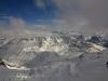 Panorama vers le nord depuis le sommet du Pic du Glacier d\'Arsine