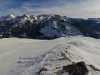 Panorama du sommet des Têtes.