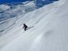Ski à Puy saint Vincent, secteur 2000