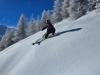 Ski Hors Pistes à Puy Saint Vincent, Les Bois des Cretes.
