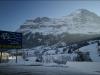 Grindelwald, L\'Eiger à droite.