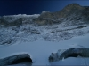 Le glacier fantome et ses grottes au pied de l\'Eiger.