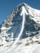Daudet Lionel, face nord de l'Eiger