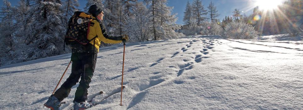 ski de randonnée : mercredi de decouverte