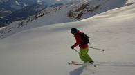 ski de rando à la blanche, Pelvoux