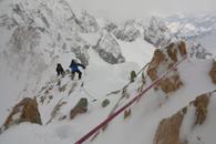 ski de rando dans le Glacier Blanc