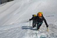 alpinisme avec un guide de haute montagne alpes aventure