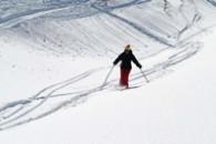 Ski hors pistes à Sauze d'oulx avec un guide de haute montagne Alpes Aventure