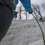 Cascade de Glace initiation à Pelvoux Vallouise avec un Guide de Haute Montagne Alpes Aventure