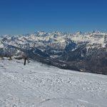 Ski à Bardonecchia avec un guide de haute montagne Alpes Aventure