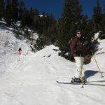 Ski à Montgenevre Claviere avec un guide de haute montagne Alpes Aventure