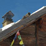 Ski à Névache avec un guide de haute montagne Alpes Aventure