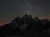 La Voie Lactée devant le Pelvoux