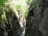 Dans les Gorges de la Via Ferrata d\'Ailefroide
