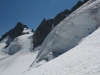le rateau et les séracs du Glacier de la Girose