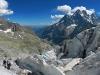 """Sur le Glacier Blanc pour un parcours \""""Ecole de Glace\"""""""
