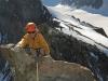 La grimpette facile des beaux rochers du sommet