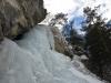 Cascade de Champ Pelbaud, dernière longueur