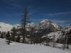 Ski hors pistes à Montgenevre, Le Chaberton