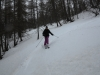 Ski hors pistes à Cesana Torinese
