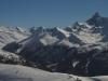 Panorama de la Cime Saurel : Rochebrune