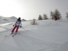 Ski hors pistes entre Sestriere et San Sicario