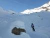 Descente du Vallon des Queyrettes à Puy Saint Vincent