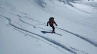 raid a ski entre Montgenevre et Cervieres autour du Rochebrune
