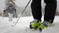 découverte du ski de rando à Puy saint Vincent