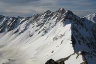 ski de rando au Pic de la Cavale