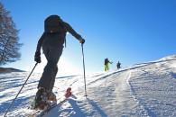 initiation ski de randonnée ecrins