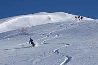 Ski de randonnée à la Gardiole du Roux d'Abries dans le Queyras avec un guide de haute montagne Alpes Aventure