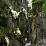 Via Ferrata des Gorges d'Ailefroide à Pelvoux avec Alpes Aventure