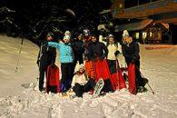 rando luge à Puy Saint Vincent avec Alpes Aventure